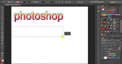 Ders 18: Adobe Photoshop Şekil Yazi ve Hazir Stil Araçları